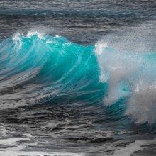 An ocean wave