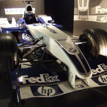 William FW25 F1 Car