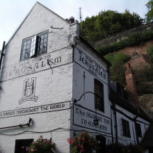 Ye Old Trip to Jerusalem pub, Nottingham, England