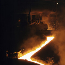 A blast furnace