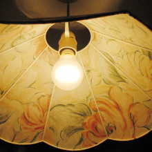A conventional light bulb