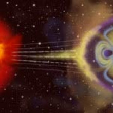 Solar storm impacting the Earth's Magnetosphere - RAL Space