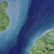 NASA Image of Dover Straits