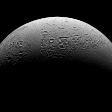 Enceladus is the sixth-largest moon of Saturn and was discovered in 1789 by William Herschel.