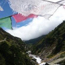 Everest Trek - Flags