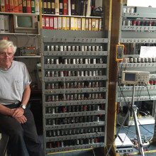 Nigel Bennee is working on a replica of the EDSAC computer, the world's first general purpose computer, built in Cambridge
