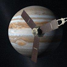 The Juno spacecraft will arrive in orbit around Jupiter in 2016