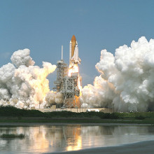 A Shuttle Launched from Cape Canaveral