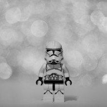 A lego stormtrooper