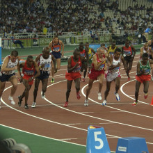 Olympics race