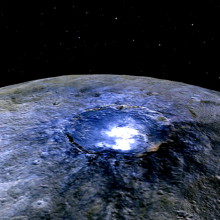 The mysterious white spots on Ceres